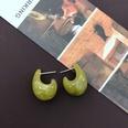 NHOM1452809-Green-Silver-Needle-Stud-Earrings-1.52.3cm