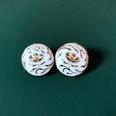 NHOM1452852-Creamy-silver-needle-stud-earrings-2.2cm