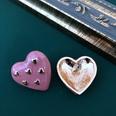 NHOM1452950-Heart-shaped-silver-needle-stud-earrings-2.5-cm