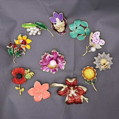 plants animals diamond brooch NHOM315764's discount tags