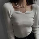 retro baroque pearl metal necklace  NHYQ315831