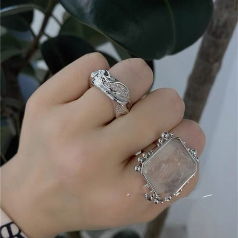 fashion simple diamond ring NHYQ315835's discount tags