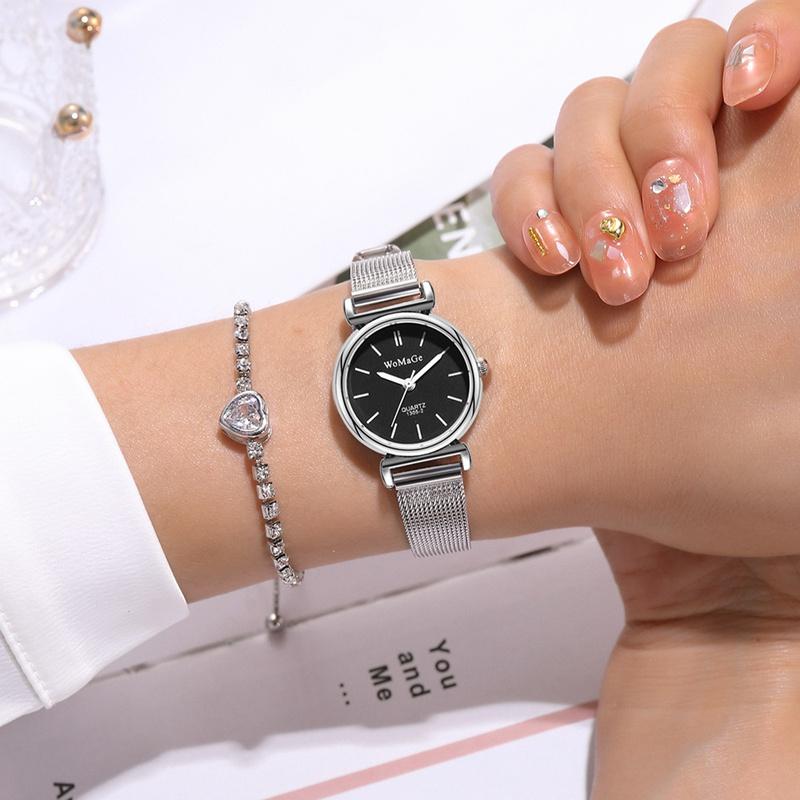 mesh strap quartz watch  NHSS315871