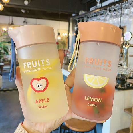 Cartoon Fruit Plastic Cup  NHtn315926's discount tags