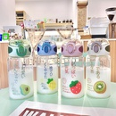Cute fruit series glass water cup NHtn315930
