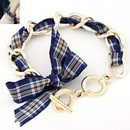 Korean fashion bow chain bracelet NHSC315974
