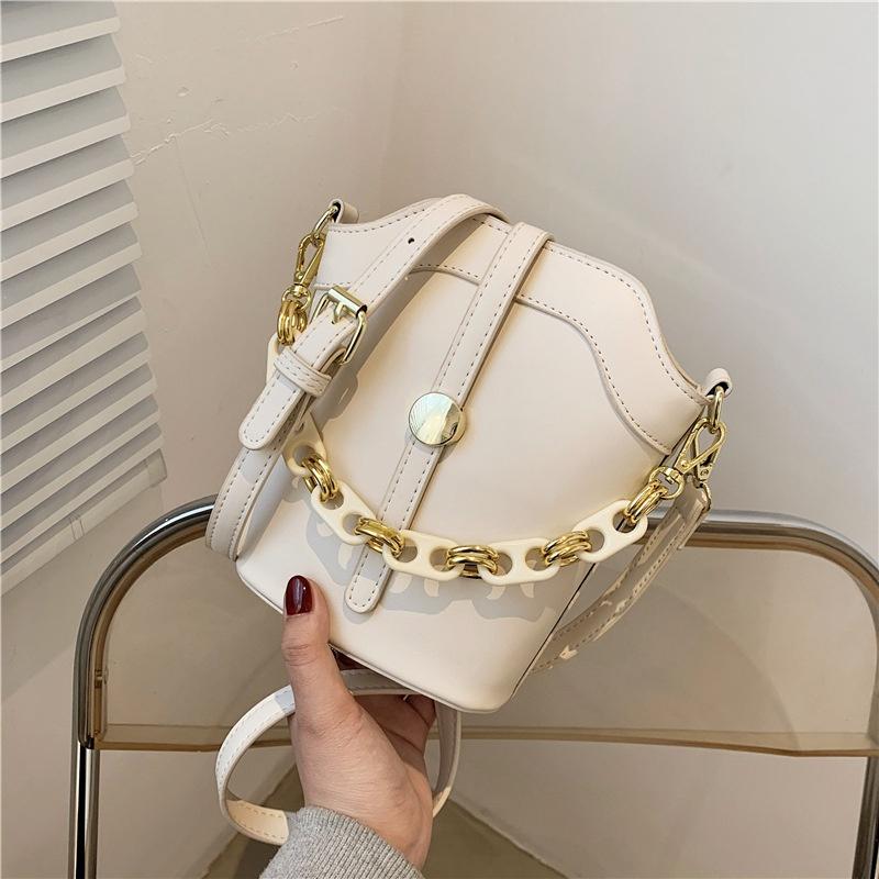 new korean fashion shoulder chain messenger bag NHLH315990