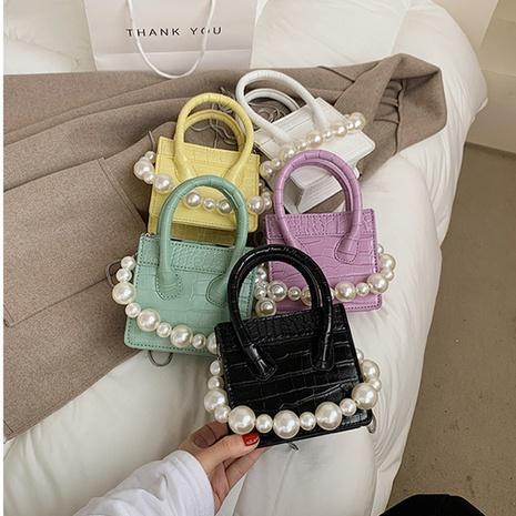 neue trendige Mode Perlenkette Umhängetasche NHLH316000's discount tags