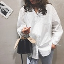 einfache Mode Eimer schwarze Tasche NHJZ316013