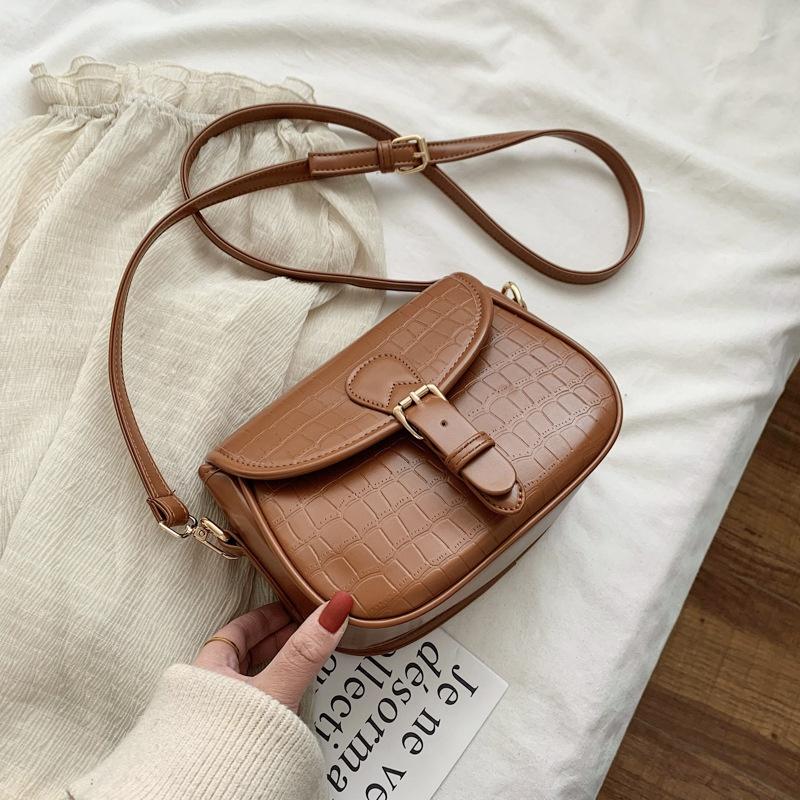 new korean fashion simple trend single shoulder messenger bag NHJZ316025