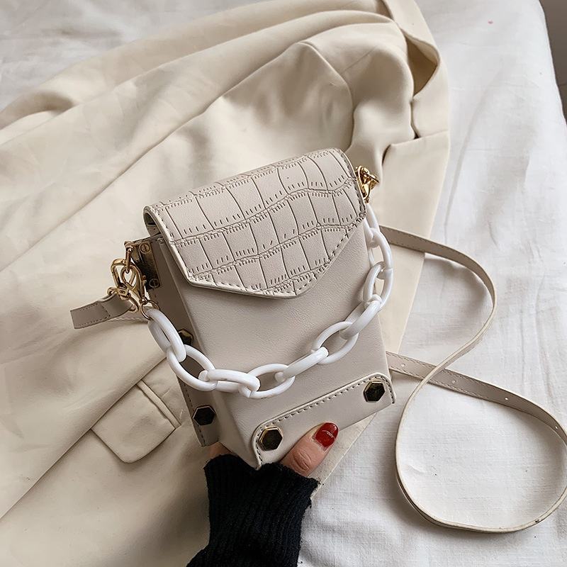 new korean wild thick chain fashion popular bucket bag NHJZ316026