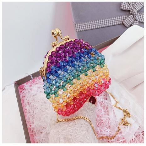 nouveaux sacs de perles colorés simples NHJZ316031's discount tags