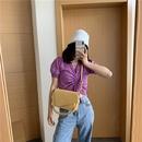 neue trendige Mode wilde Textur Schulter quadratische Tasche NHJZ316041