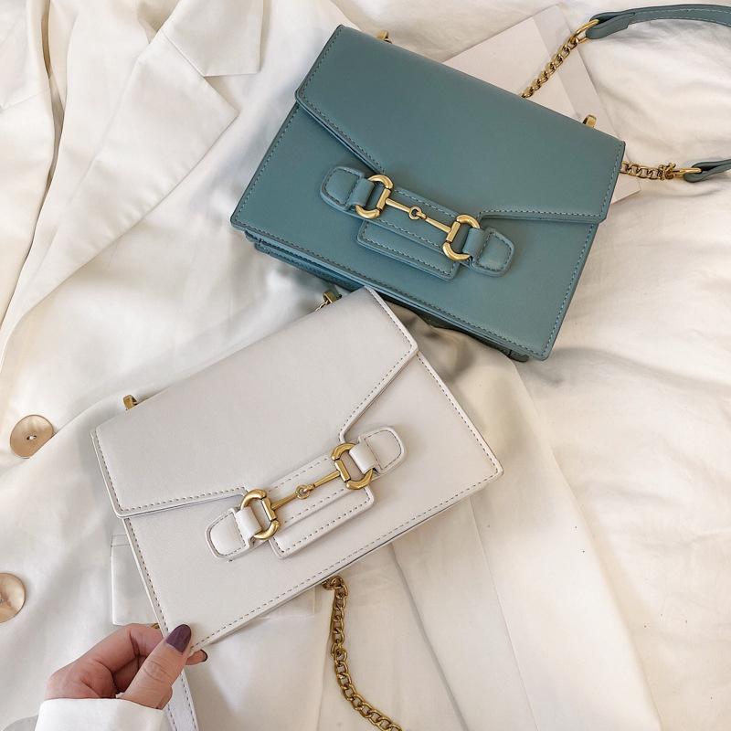 Korean simple fashion square bag NHJZ316059