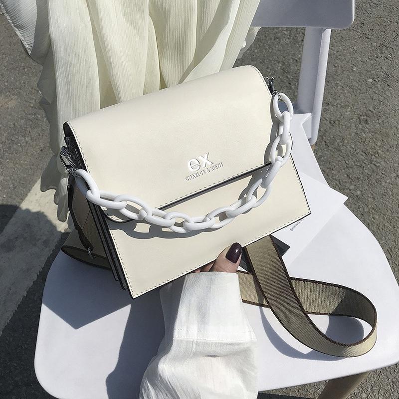 new wave korean fashion simple shoulder messenger bag NHJZ316063