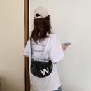 New Wave koreanische Wild Fashion Lackleder Umhngetasche NHJZ316088