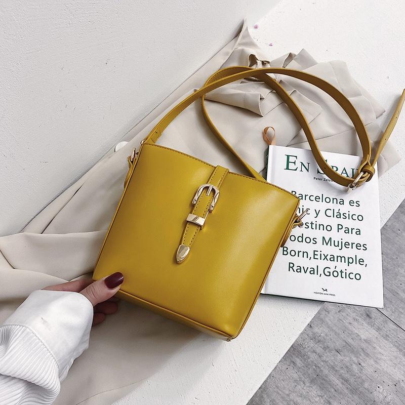 Korean simple wild  shoulder bag NHJZ316099