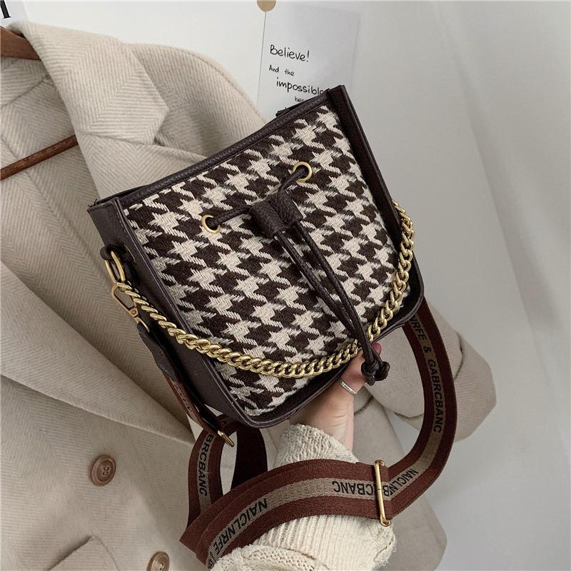 new simple fashion chain bucket bag  NHJZ316100