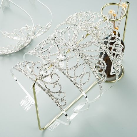 fashion metal claw chain rhinestone headband NHLN313824's discount tags