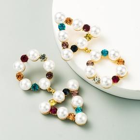 fashion multi-layer alloy creative long earrings NHLN313827