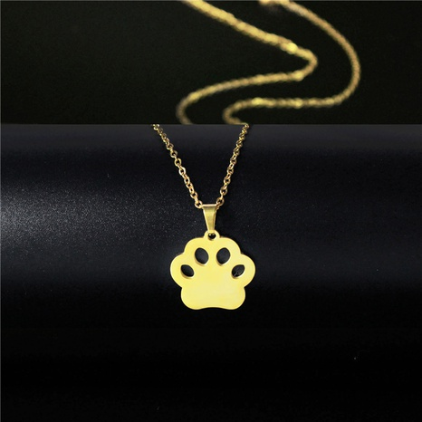 lindo collar de garra de gato animal NHAC313926's discount tags