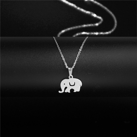 collar de elefante pequeño simple NHAC313986's discount tags