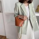 Bolso bandolera de cuero de moda coreana NHJZ316128