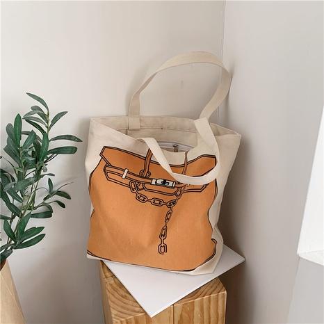 neue trendige koreanische lässige Einkaufstasche mit großer Kapazität NHJZ316184's discount tags
