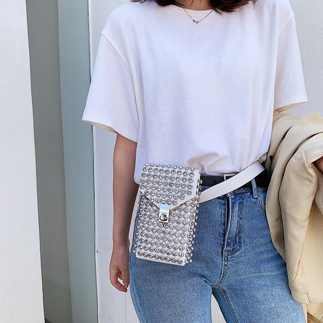 nueva moda mini bolso de mensajero retro de hombro de diamantes NHTG316216's discount tags