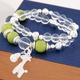 Korean fashion sweet wild OL crystal stone bracelet NHSC316239