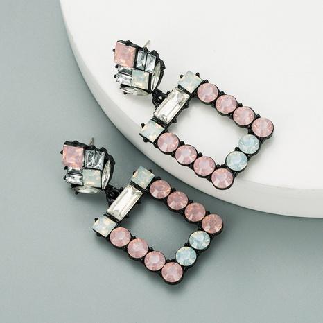 fashion square acrylic geometric earrings  NHLN316307's discount tags