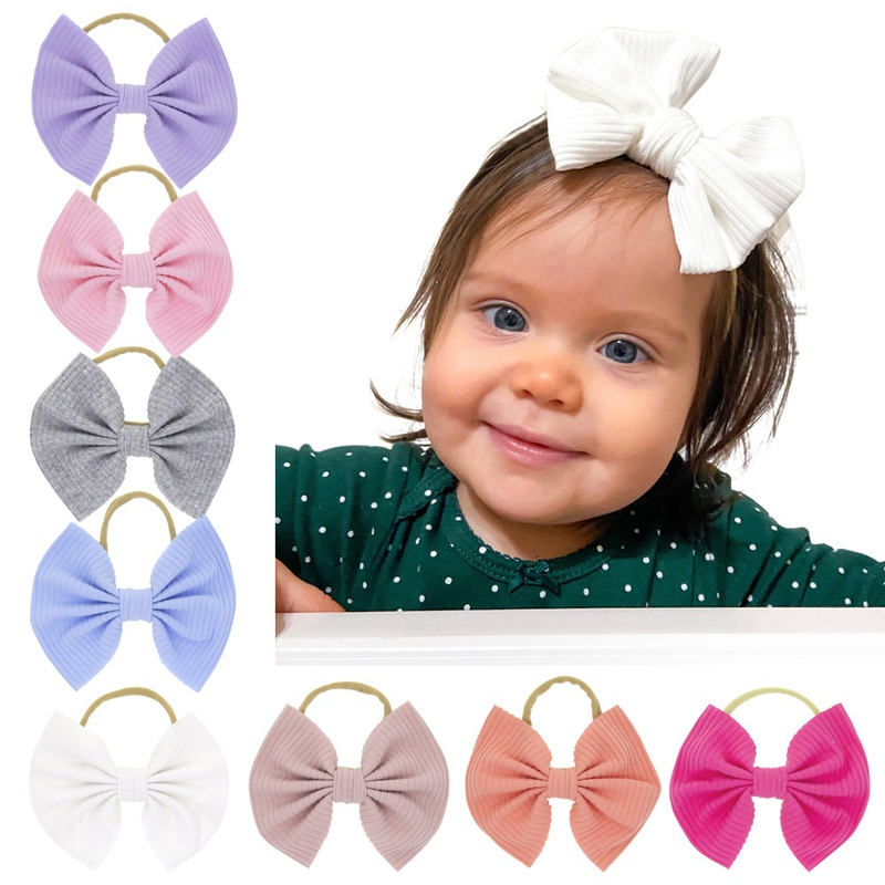 simple elastic bow headband NHWO316328