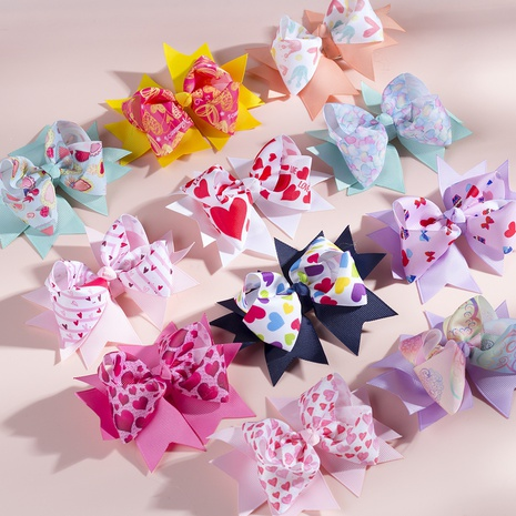 fashion simple Bow Hairpin NHWO316330's discount tags