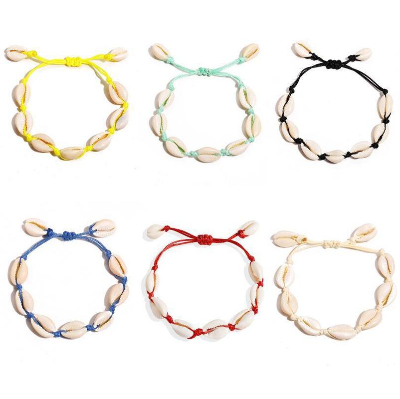 retro simple shell bracelet NHYI316338