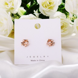 creative simple petal earrings NHYI316351