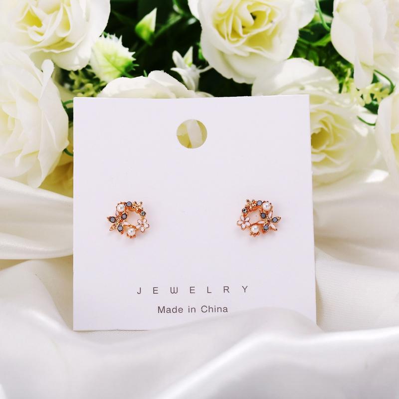creative simple petal earrings NHYI316351