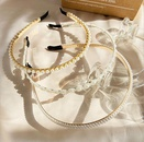 crown pearl headband NHYI316362