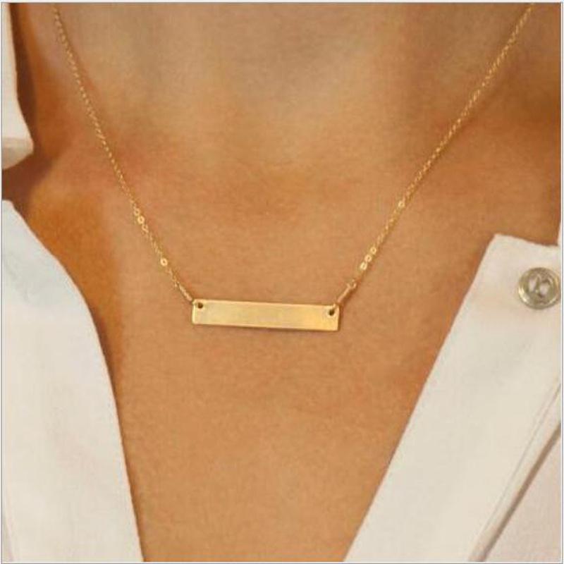retro simple pendant necklace NHYI316358