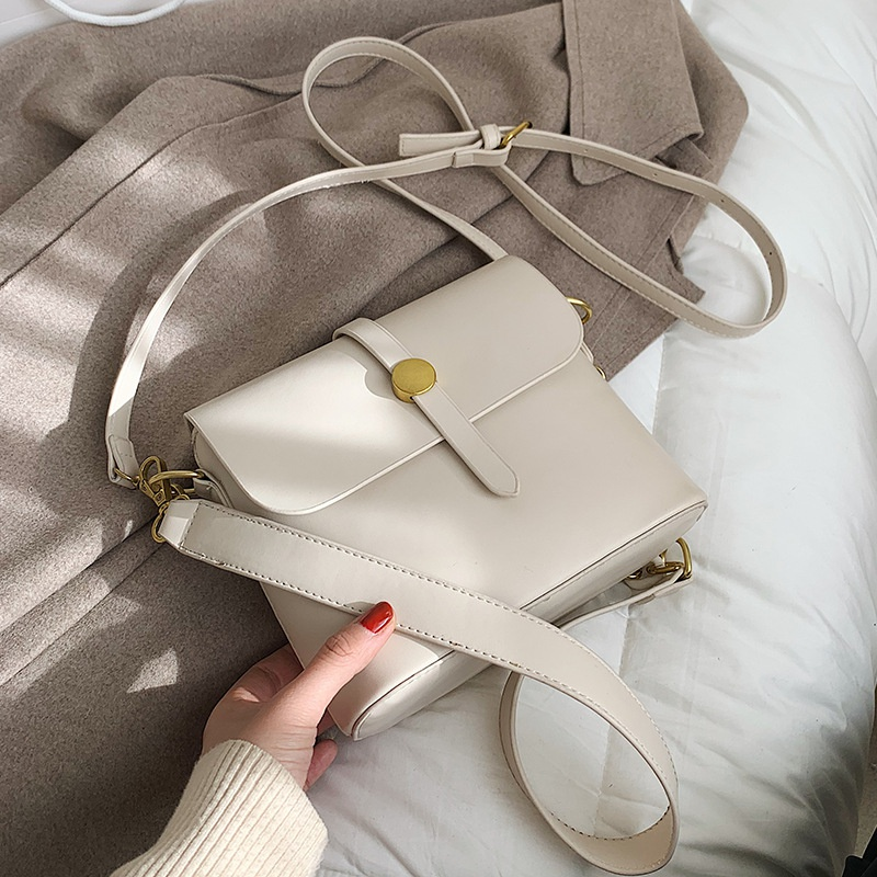 fashion simple messenger bucket bag NHLH316368