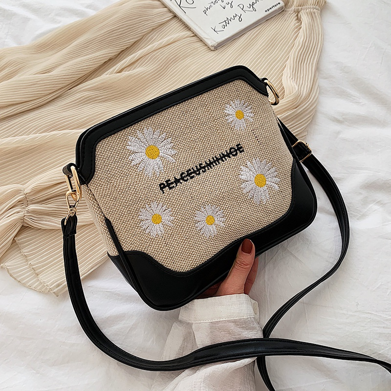 Korean style fashion small daisy bag NHJZ316384