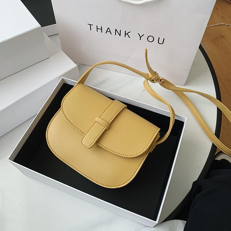 fashion shoulder semicircle saddle bag  NHJZ316396