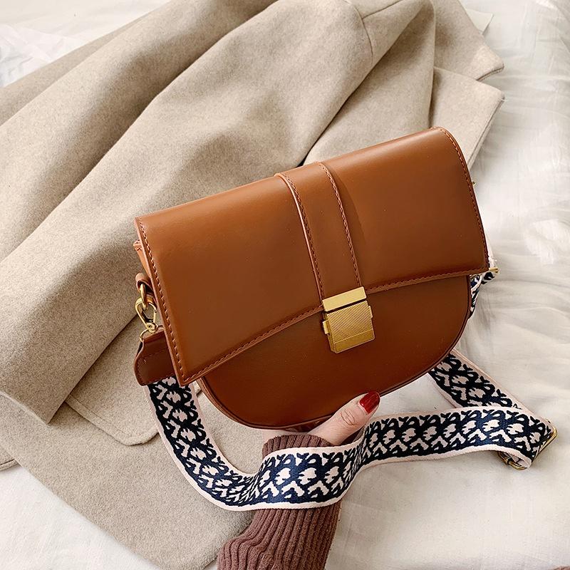 fashion messenger small saddle bag  NHJZ316399