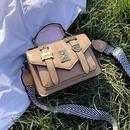 bolsa de mensajero con insignia retro de moda NHJZ316402