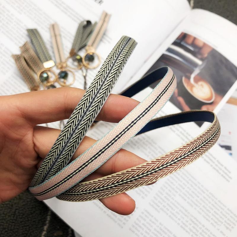 simple fashion Pattern Glossy Headband  NHFS316408