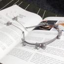Mesh bag pearl bow pure color headband NHFS316412