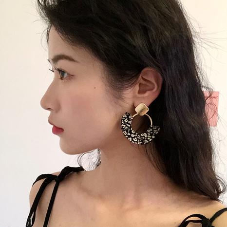 retro printed fashion earrings NHNJ316478's discount tags