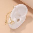 fashion pearl heart ear bone clip  NHNJ316501