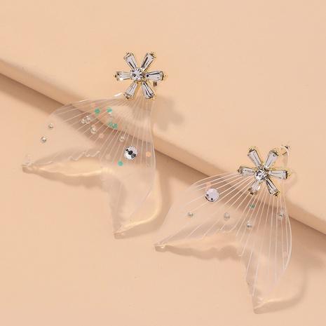 elegante Ohrringe der Fischschwanzmode NHNJ316511's discount tags