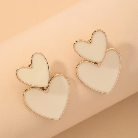 einfache süße Mode Herz Ohrringe NHNJ316530's discount tags