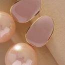 pink sweet fashion cute earrings NHNJ316566